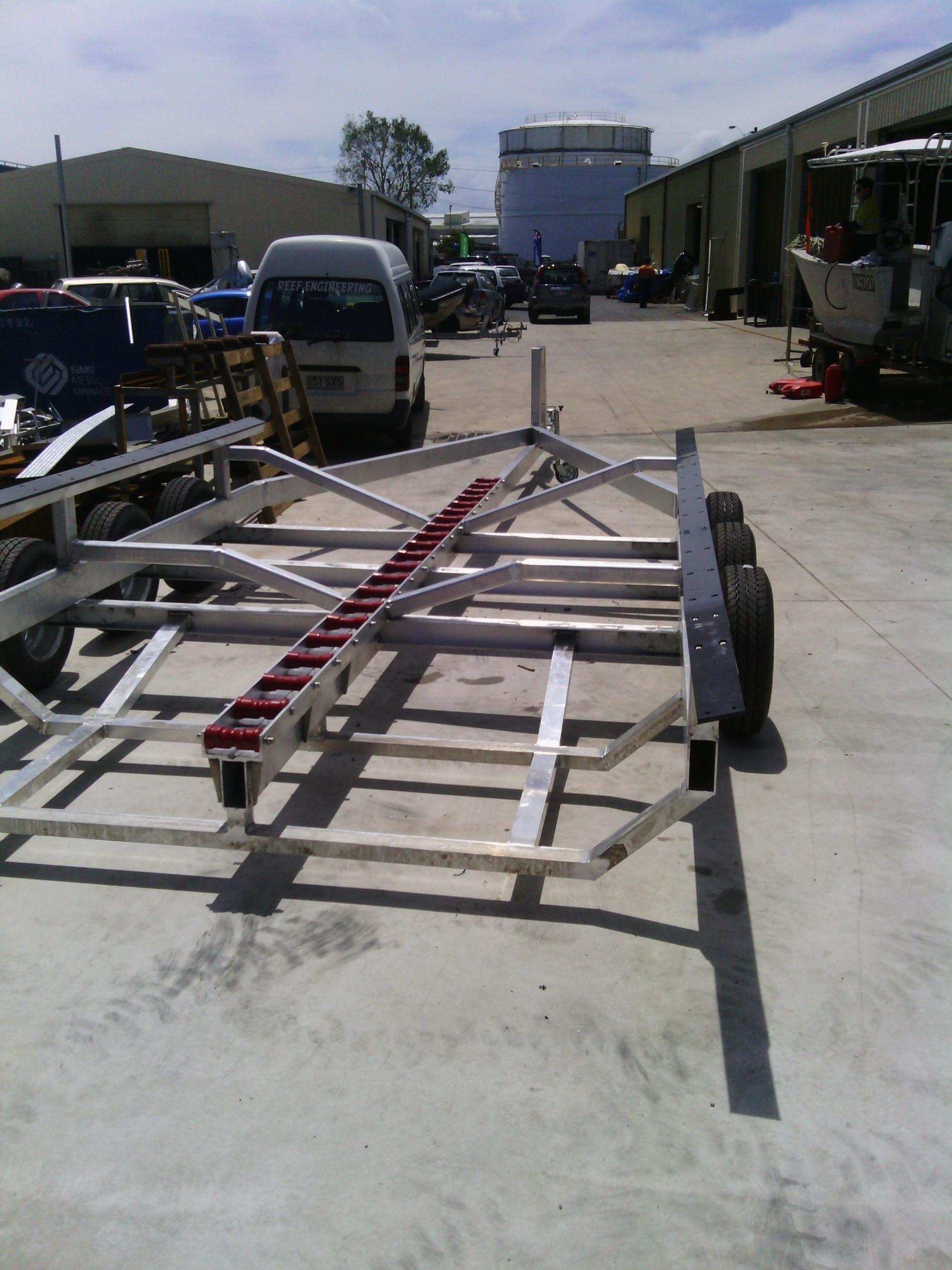 Plant trailers - Boat trailers - Box trailers - Camper